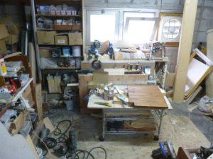 木工作業場